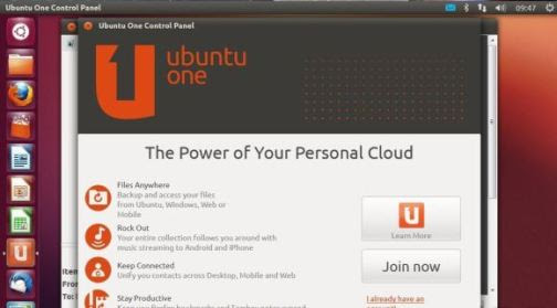 Similar to Microsoft's SkyDrive, Ubuntu One allows users to back up and access their files from Ubuntu, Windows, the Web, or a mobile device.