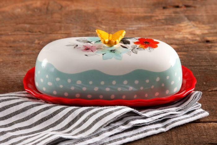Pioneer Woman Cookware Butter Dish
