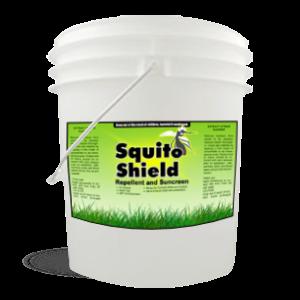 Squito Shield: Repellent and Sunscreen 5 Gallon