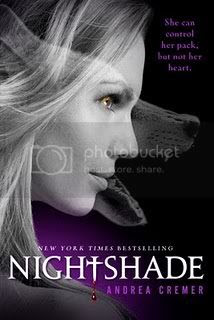 nightshade by andrea cremer US paperback