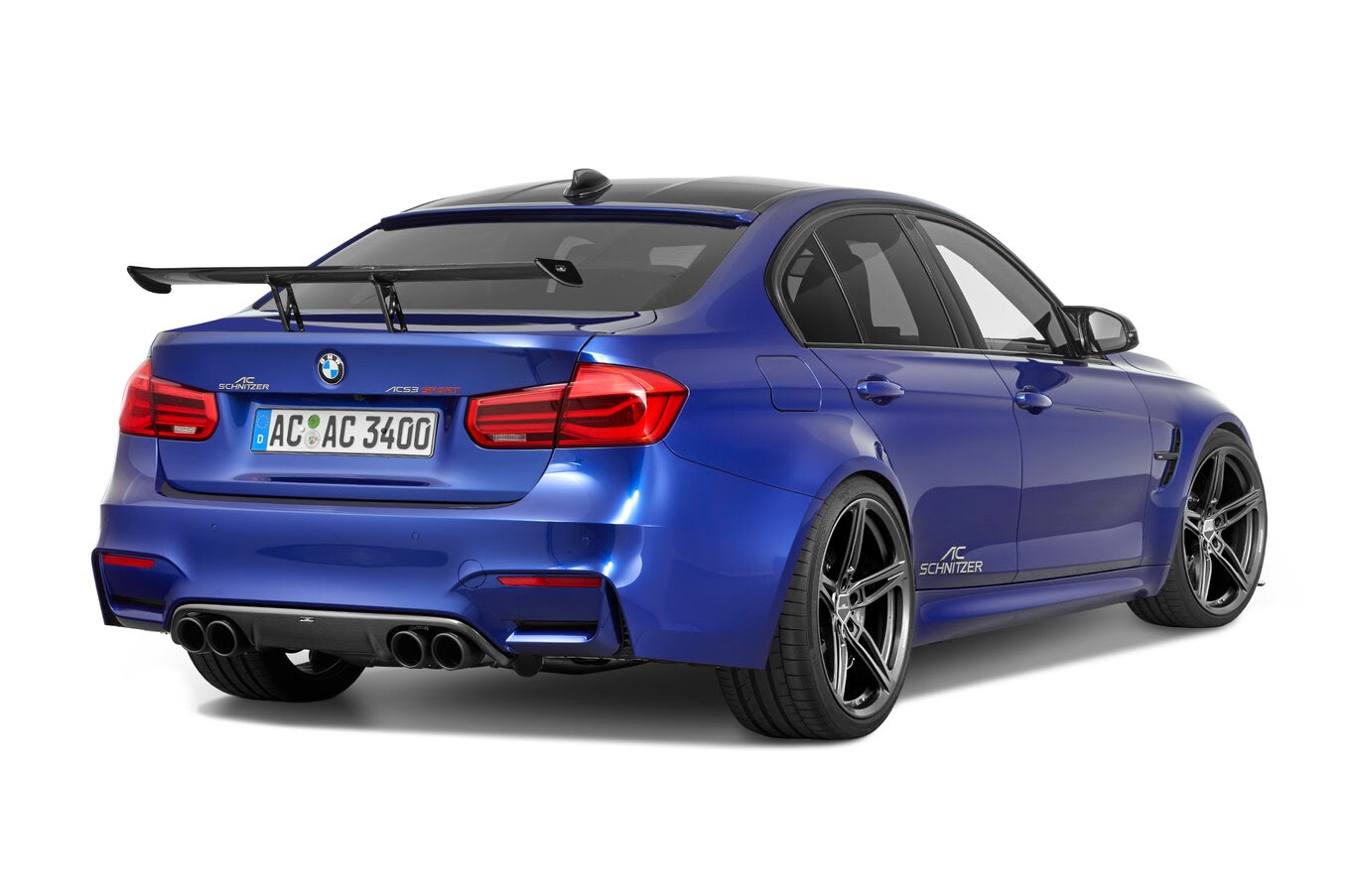 AC Schnitzer Treatment Arrives for BMW M3, M4