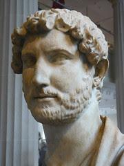 Roman Emperor Hadrian 118-120 CE found in Hadr...