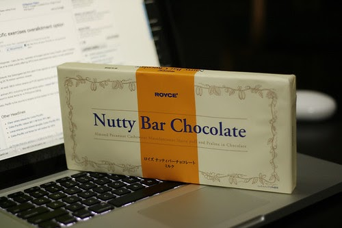 Royce Nutty Bar Chocolate Price Singapore