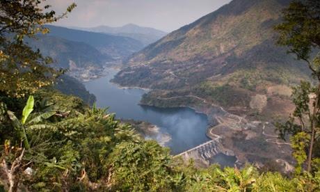 A dam in Arunachal Pradesh. Travelib Environment/Alamy