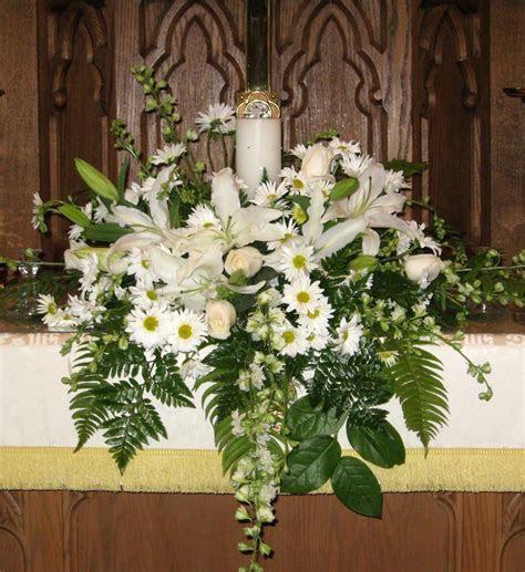 Unity Candle Altar Arrangement   Wedding   Church wedding