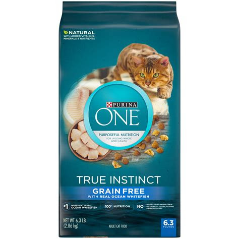 purina  natural high protein grain  dry cat food
