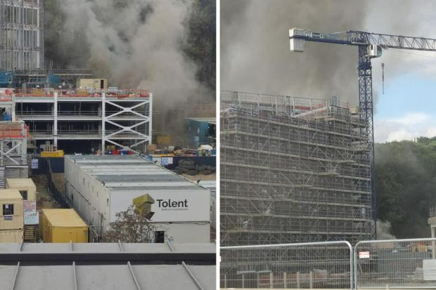 Durham City Centre fire: Emergency services say no reports of explosion