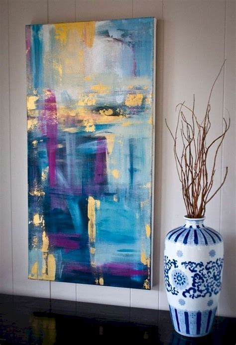 easy diy canvas painting ideas  decorate  home