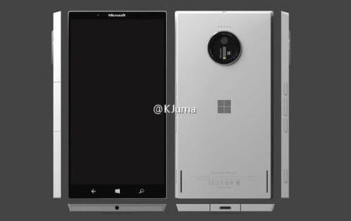 Alleged Microsoft Surface Phone
