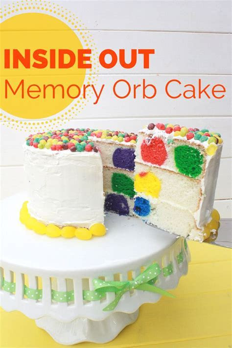 Inside Out Memory Orb Cake   Memories, The o'jays and