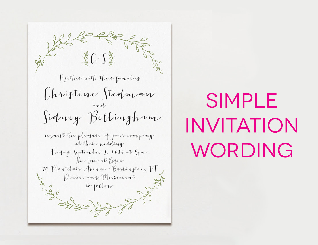 Card Invitation Example Quotes 9
