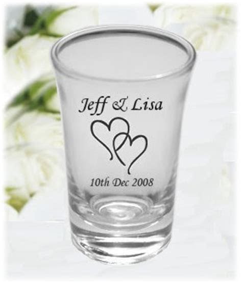 Wedding By Designs: Bridal Personalized Shot Glasses