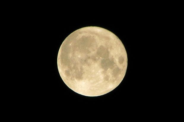 """Lua vai """"sumir"""" no dia 9 de janeiro, quando se posicionar exatamente entre o Sol e a Terra. (Foto: Domínio público)"""