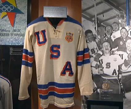 Bill Christian 1960 USA jersey