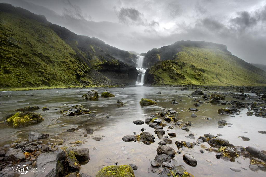Impressionantes fotos aéreas das paisagens da Islândia 12