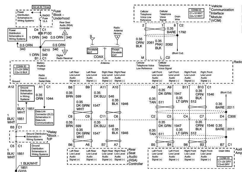 99 Yukon Wiring Diagram