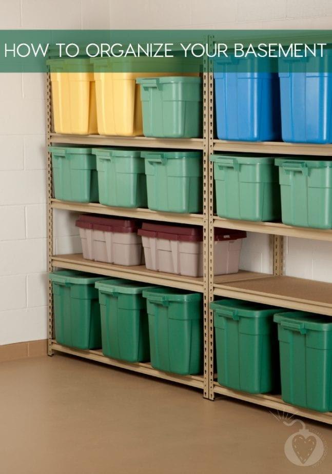 6 Easy Organizing Ideas