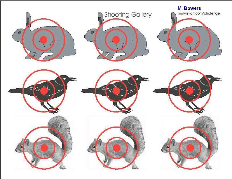Free Printable Shooting Targets | Armory Blog