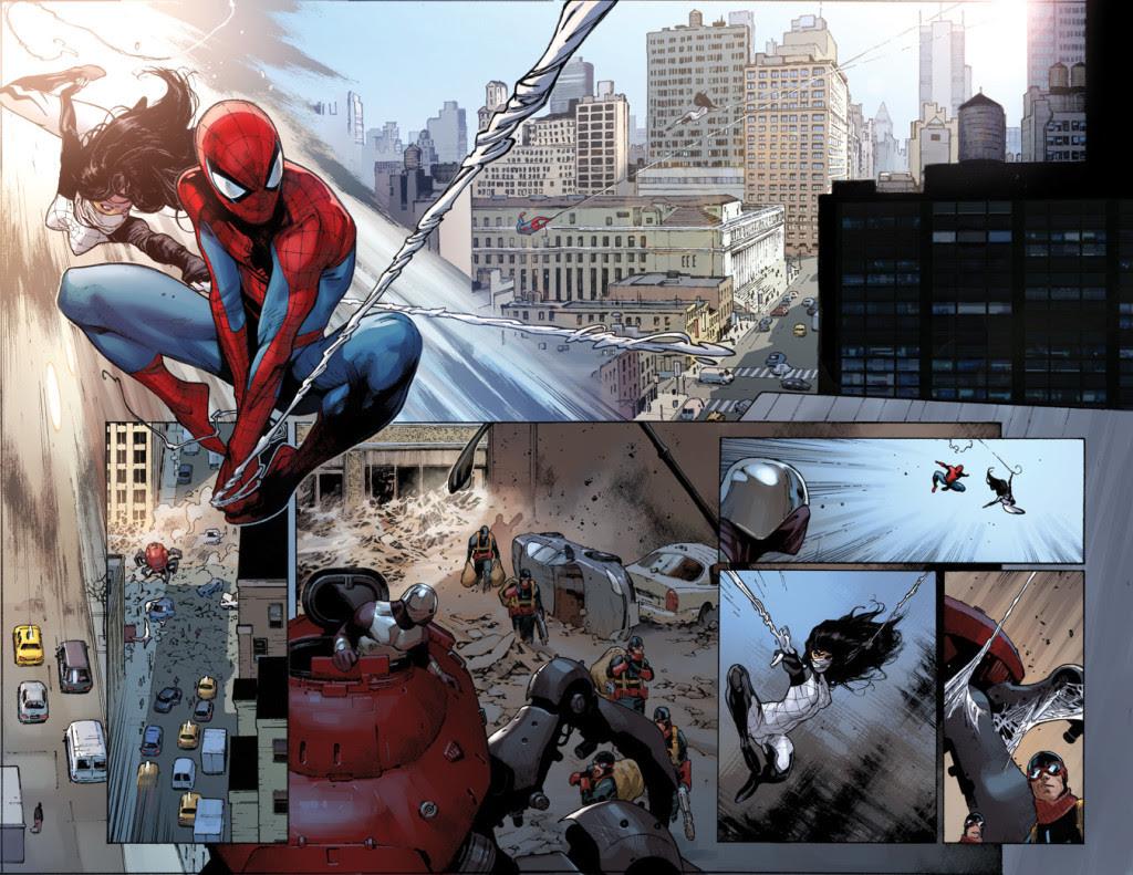http://www.thekliqnation.com/wp-content/uploads/2014/11/Amazing-Spider-Man-9-Spider-Verse-interior-art-1024x791.jpg