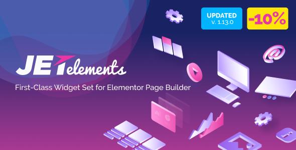 JetElements v1.14.0 - Addon for Elementor Page Builder