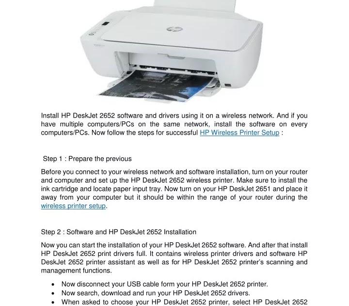 dasar pencarian uang di internet: Hp Deskjet 2652 Wireless ...
