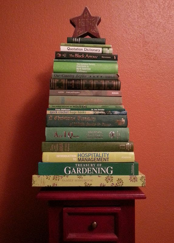 Fun Find Friday: Book Christmas Tree