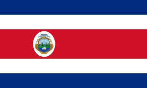 State Flag of Costa Rica
