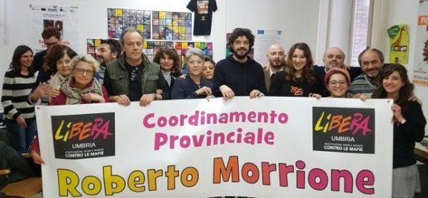 Roberto Morrione cammina sempre con noi: il coordinamento di Libera Perugia prende il suo nome