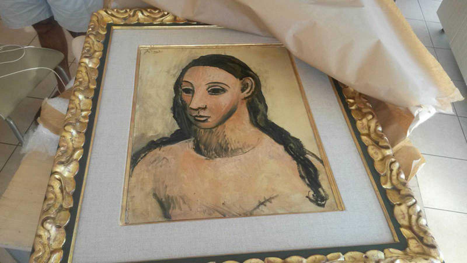 El cuadro de picasso 'Cabeza de mujer joven', valorado en 26 millones de euros