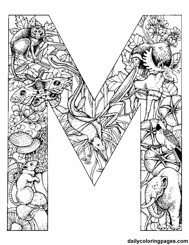 5300 Top Coloring Pages Of Animals Hard For Free