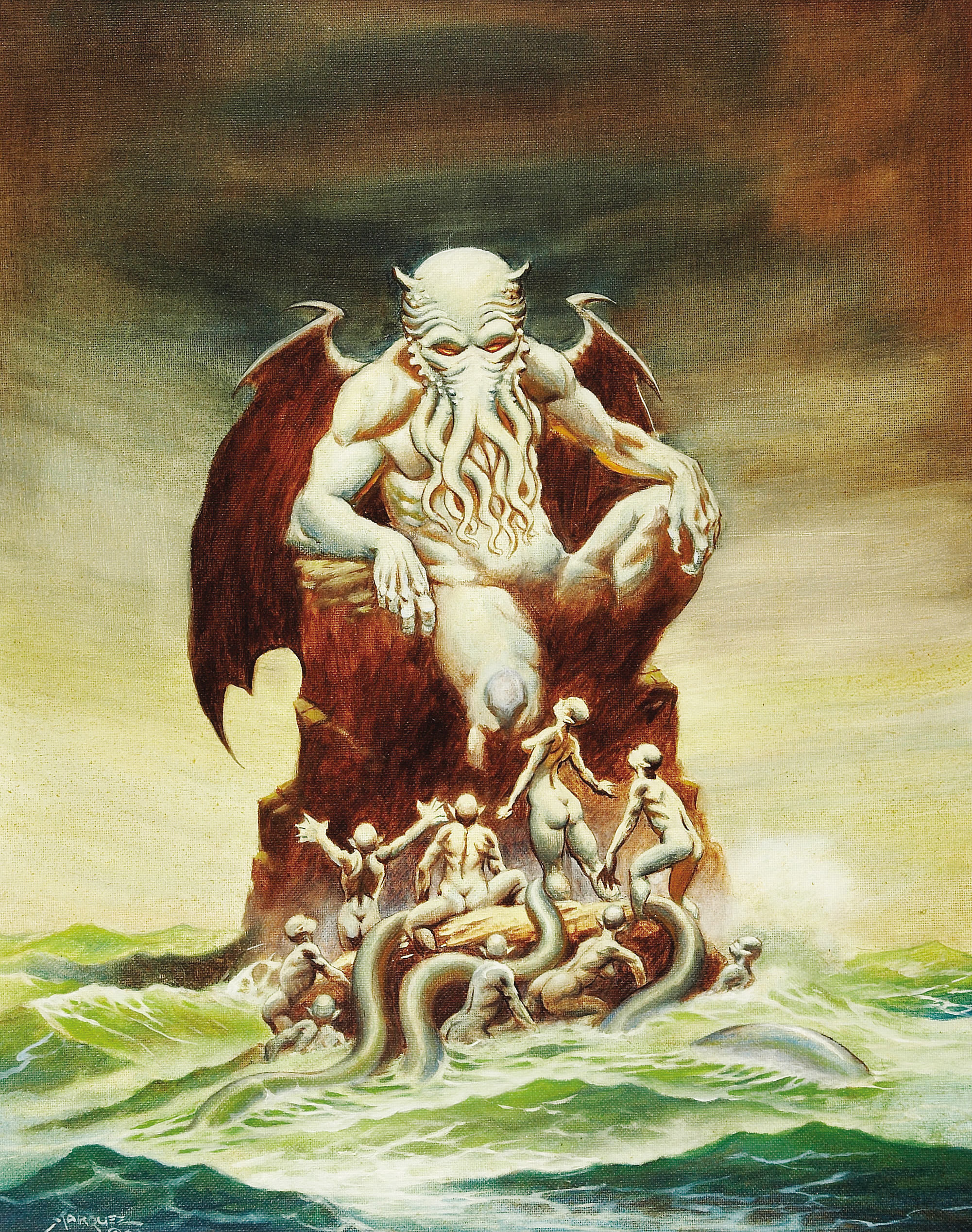 Don Marquez - Cthulhu Painting (2003)