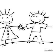 Dibujos Para Colorear Niños Eshellokidscom