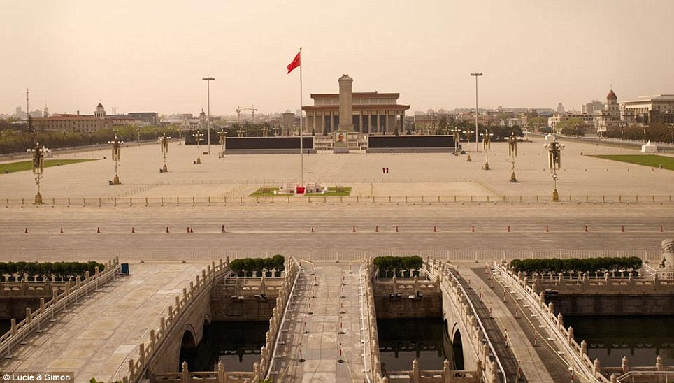 Barren: Tiananmen Square, the centre of Beijing and the third-largest city square in the world, gets the post-apocalyptic treatment