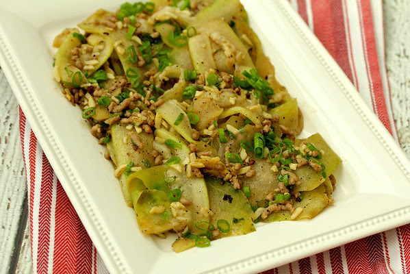 Stir-Fried Fuzzy Melon