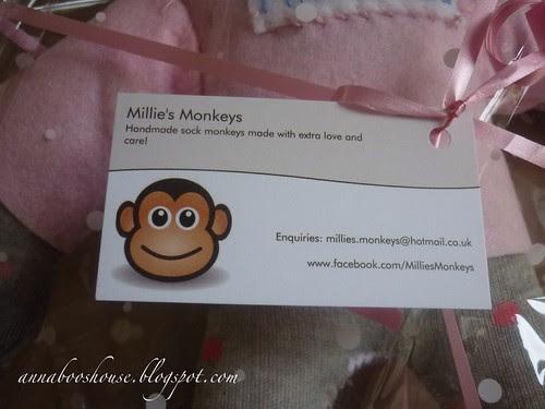 Gift from Millie's monkeys