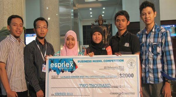 Tim mahasiswa UB pembuat KYUBI di indonesiaproud wordpress com (Foto: UB)