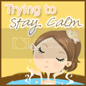 trying 2 stay calm button