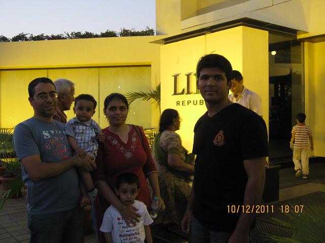Udayan Mane, Sales Manager, Kolte-Patil 24K Allure at Undri and the property buyers at Life Republic, Marunji - Hinjewadi, Pune 411 057