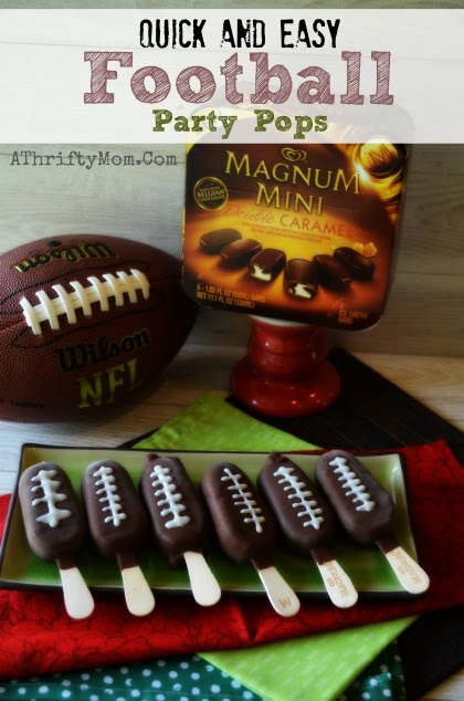 24 Tailgating Recipes You Can't Live Without! Football Party Pops!