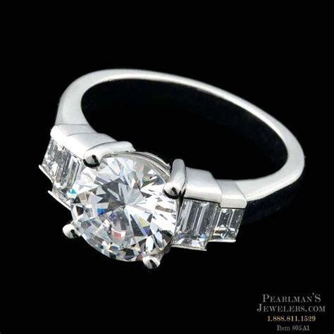 Sasha Primak Platinum Diamond Engagement Ring