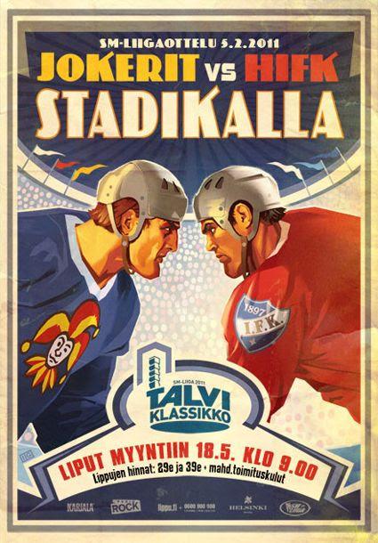 2011 Finnish Winter Classic poster