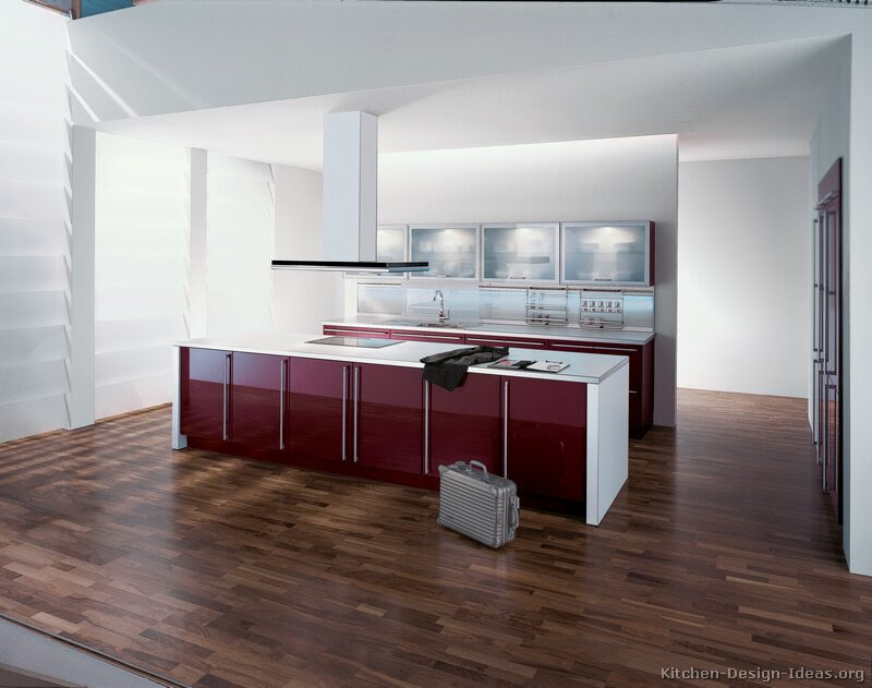 Pictures Of Kitchens Modern Red Kitchen Cabinets Kitchen 8