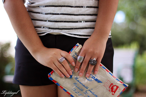 bag and rings