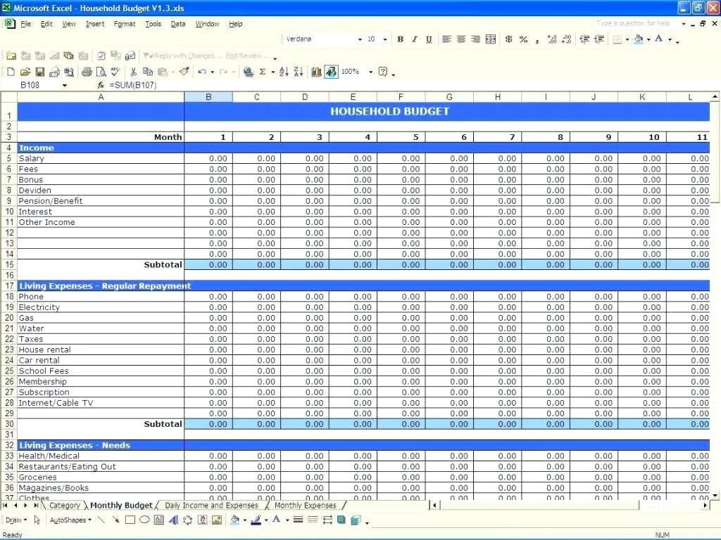 Monthly Budget Spreadsheet Template Excel Eymir Mouldings Co Google Sheets Golagoon