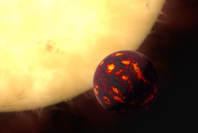 A new paper says that a Super-Earth may have formed in our Solar System and been swallowed by the Sun. Image Credit: ESA/Hubble, M. Kornmesser