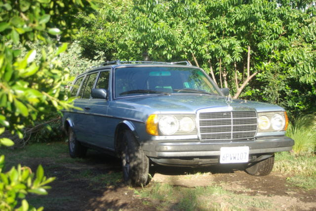 Classic W123 Mercedes 300TD wagon for sale - Mercedes-Benz ...
