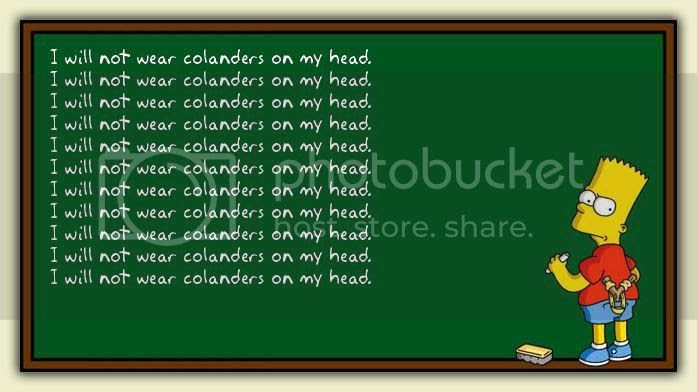 Bart at the Chalkboard