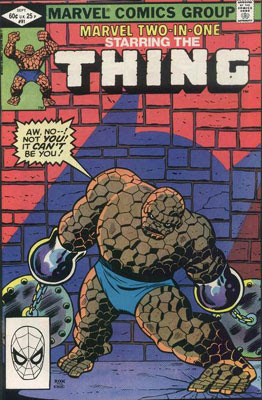 Marvel Two-in-One #91