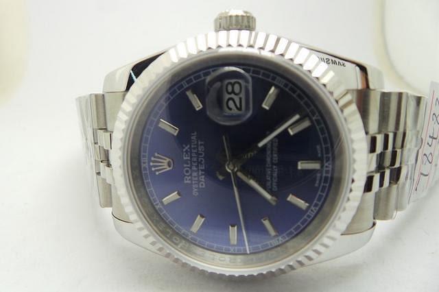 Rolex Datejust Blue Dial