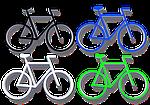 Koła, Rower, Grafika, Cztery, Hispanic